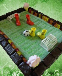 Snoeptaart Voetbal