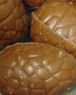 Paaseitjes in melkchocolade met vanille zonder papiertje Paaseitjes Melk Vanille