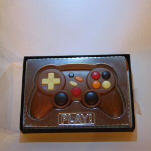 VDV Chocolaterie Game Controller in chocolade melkchocolade online bestellen Belgische chocolade