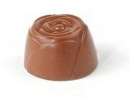 Bloem Melk, praline met slagroom Père Jacobert VDV Chocolaterie Pralines Melkchocolade Slagroom Père Jacobert Belgische Chocolade
