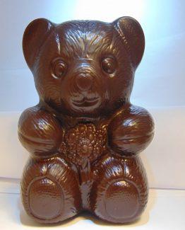 Porthos VDV Chocolaterie sint Sint Maarten Sinterklaas chocolade knuffelbeer fondant chocolade