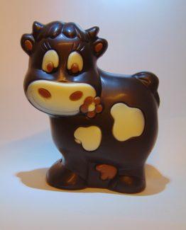 Klara VDV Chocolaterie sint Sint Maarten Sinterklaas chocolade koe fondant chocolade