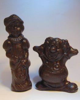 Holgoed in fondant chocolade VDV Chocolaterie Sint Maarten Sinterklaas chocolade holgoed fondant chocolade