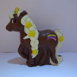 Eenhoorn in melkchocolade