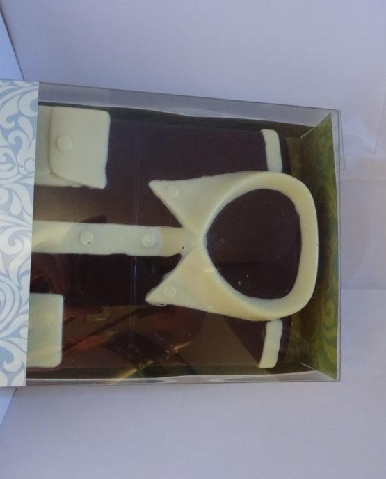 Hemd in fondant chocolade