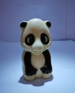 Tom de panda in witte chocolade