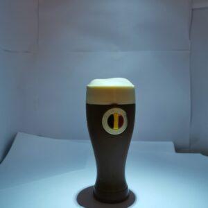 Glaasje bier in melkchocolade | Belgische chocolade | VDV Chocolaterie