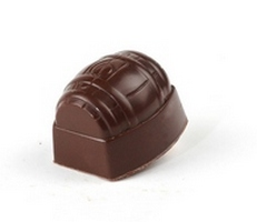 VDV Chocolaterie Pralines Tonnetje Framboos Fondant Framboos crème Belgische chocolade