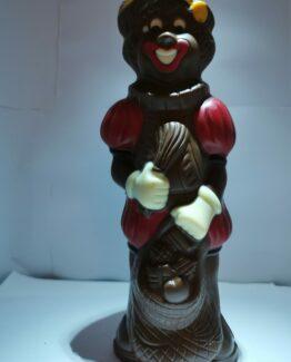 Kleurenpiet in melkchocolade